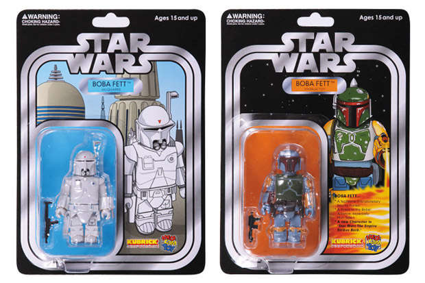 Star Wars x Medicom Toy Boba Fett Kubrick Collection