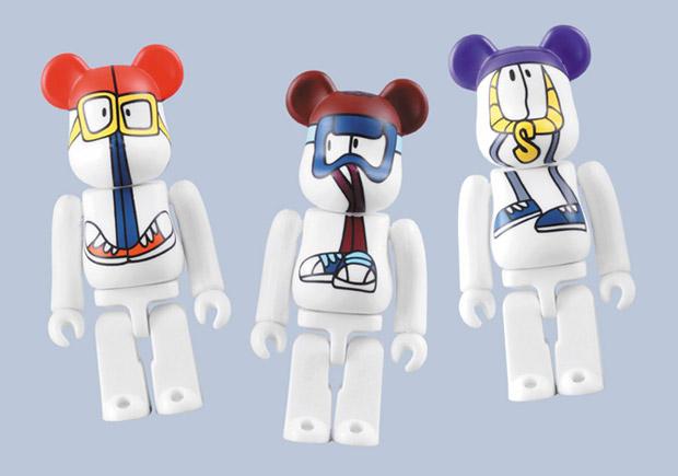 Stussy x REAS x Medicom Toy Bearbrick Set