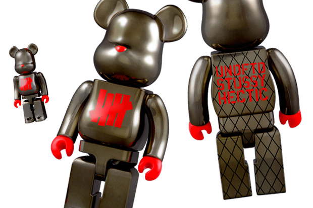 """Stussy x Undefeated x realmad HECTIC Medicom Toy """"Full Metal Jacket"""" Bearbrick 100% 