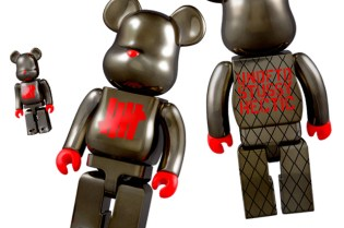 "Stussy x Undefeated x realmad HECTIC Medicom Toy ""Full Metal Jacket"" Bearbrick 100% 