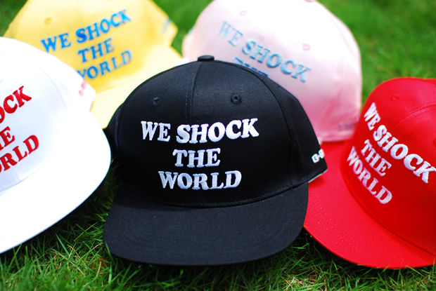 "CASIO G-SHOCK x SUBCREW ""WE SHOCK THE WORLD"" Snapback Hats"
