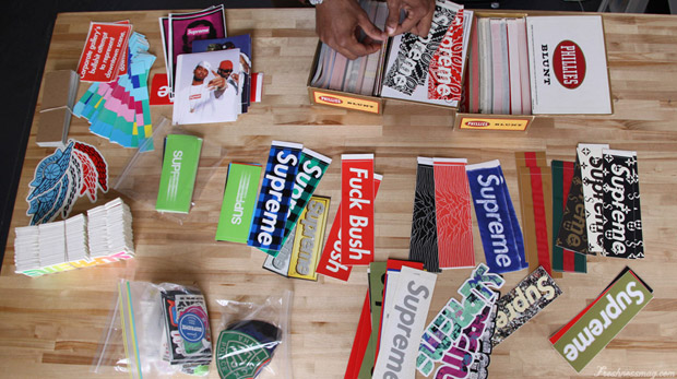Freshness Feature: Supreme Sticker Collection