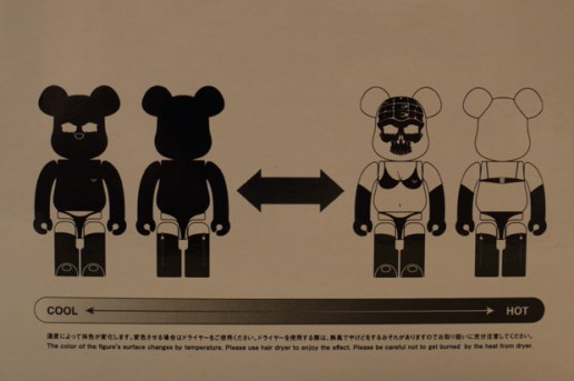 Surrender x MEDICOM TOY BEARBRICK 100% & 400%
