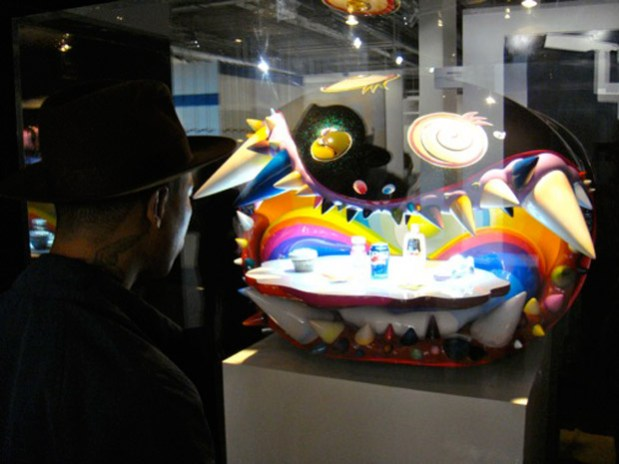 "Takashi Murakami: ""The Simple Things"" @ Switzerland Art Basel"