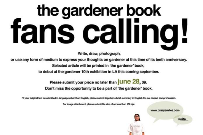 the gardener book fans calling!