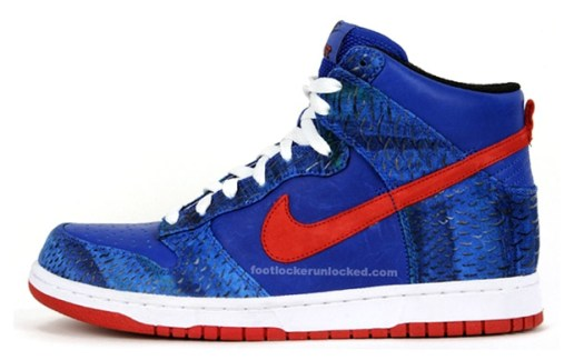 "Undefeated x Nike Sportswear Dunk Hi Supreme ""West"""