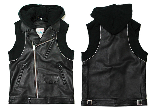 Undercover Leather Vest