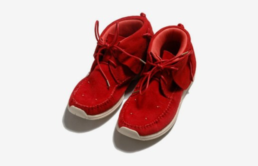 Visvim FBT LHAMO-FOLK Red