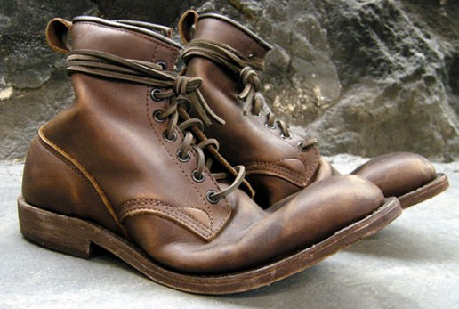Wings + Horns x Dayton Service Boot Brown