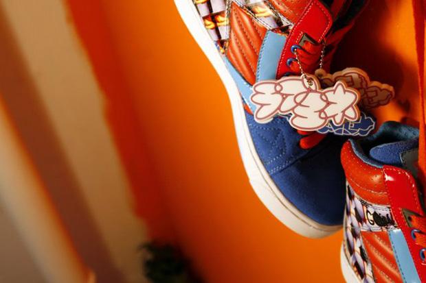 Yone x Greedy Genius Cool Breeze Sneakers