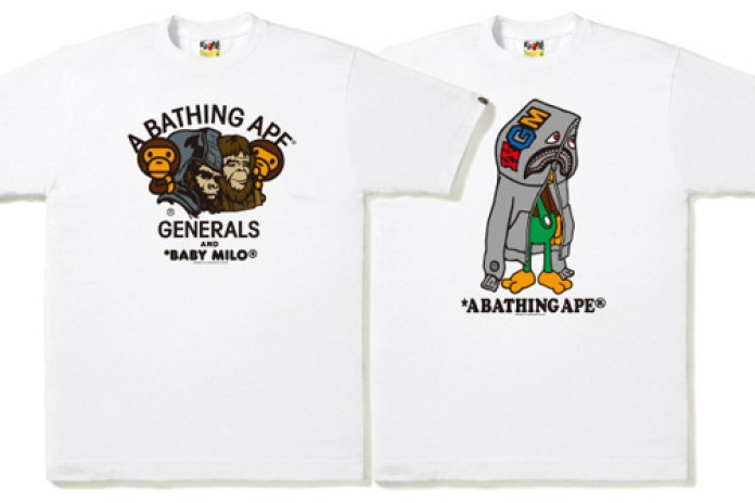 A Bathing Ape 2009 Spring/Summer T-shirts July Releases