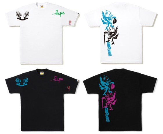 A Bathing Ape London Renewal T-Shirts