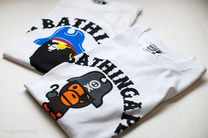A Bathing Ape Pirate Nagano Exclusive T-shirts