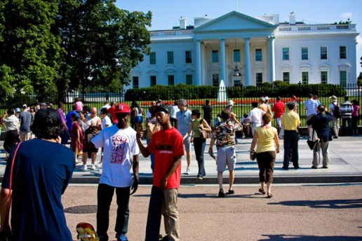 A Day Skating at the White House with Acapulco Gold
