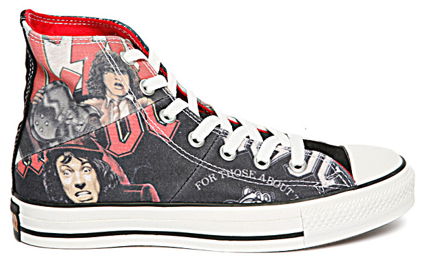 AC/DC x Converse 2009 Fall/Winter Footwear Collection