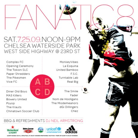 adidas Presents Fanatic 8 Soccer Tournament