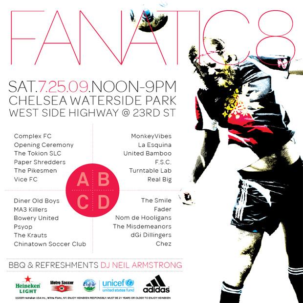 adidas Presents Fanatic 8 Soccer Tournament
