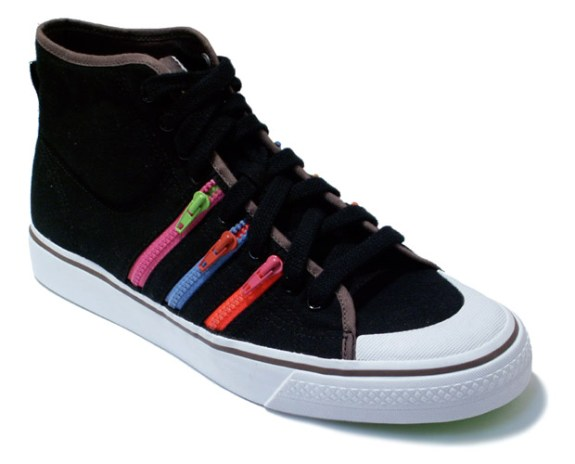 adidas Nizza Hi Rainbow Zip