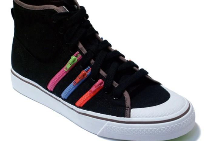 adidas Nizza Hi Rainbow Zip