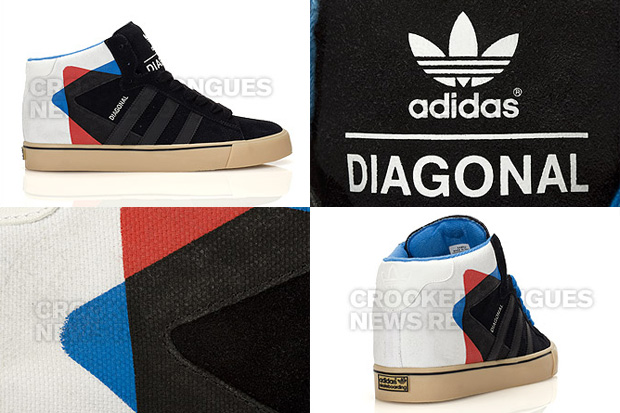 "adidas Skateboarding ""Diagonal"" Campus Mid Vulc"