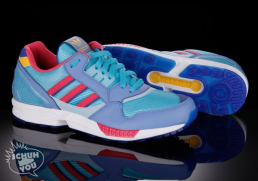 adidas ZX 9000 Light Aqua/Neon Blue