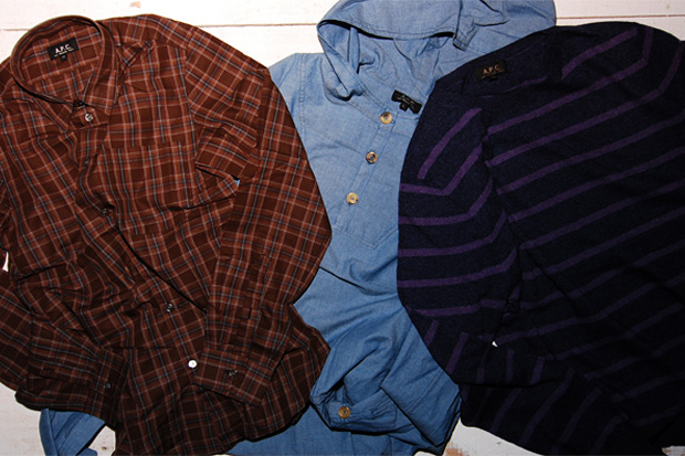 A.P.C. 2009 Fall/Winter Collection July Release