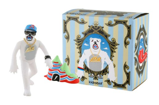 A-Trak x Dust La Rock x Kid Robot Grateful Bear Vinyl