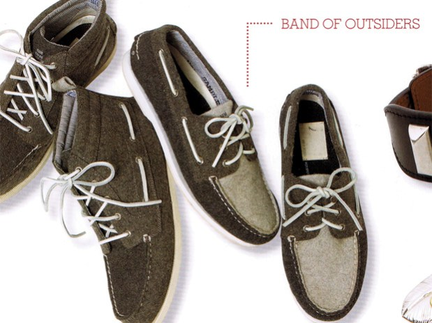 Band of Outsiders for Sperry 2009 Fall/Winter Footwear