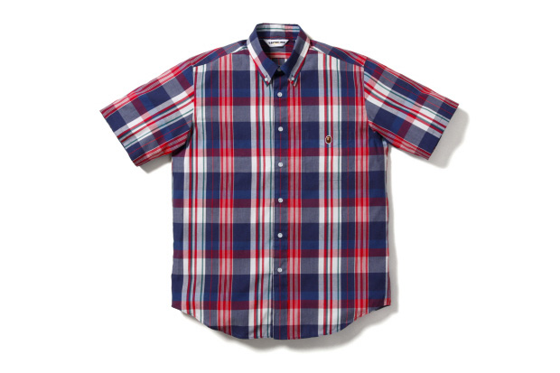 A Bathing Ape 2009 Summer Plaid Shirts