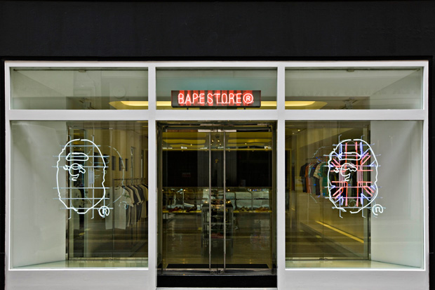 A Bathing Ape London Store Preview