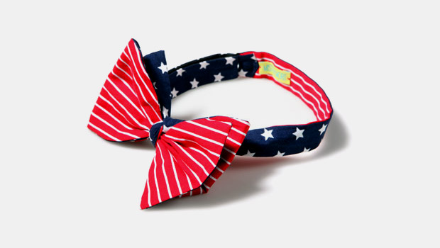 Baron Von Fancy x Mister Mort Old Glory Bow Tie