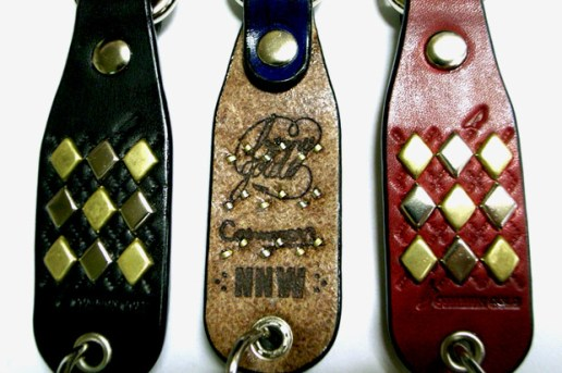 Benny Gold x Common Magazine Leather Keychains
