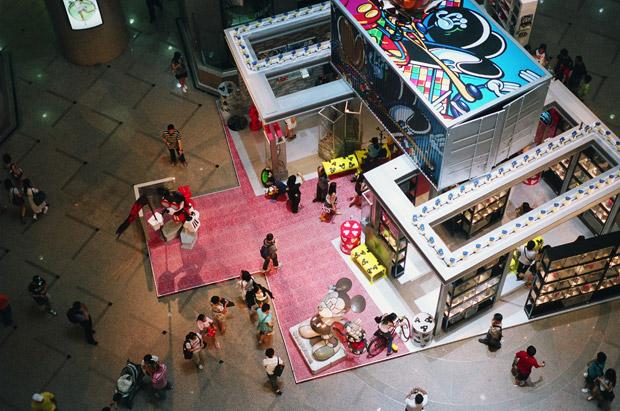 BLOC 28 at Times Square Hong Kong Exhibition