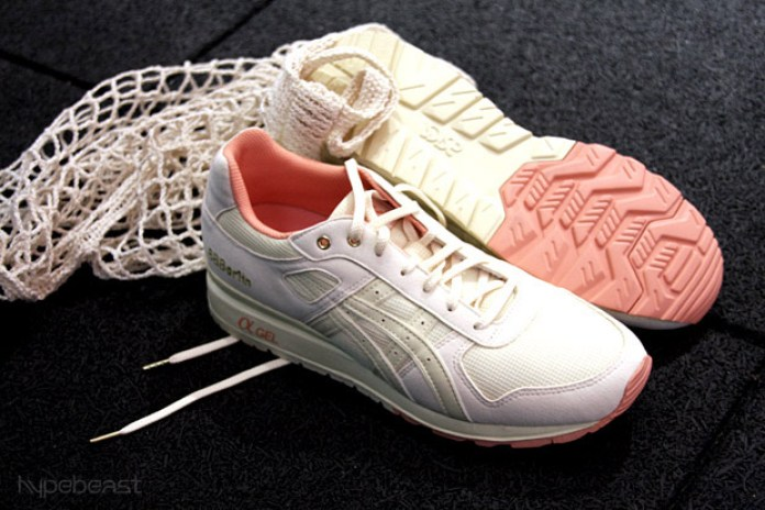 "Bread & Butter x Asics GT II ""Salmon & Butter"" Sneakers"