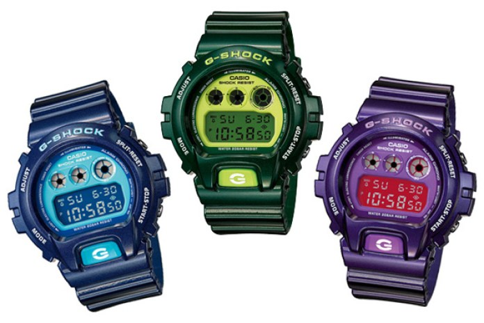 "CASIO G-SHOCK ""CRAZY COLORS"" DW-6900"