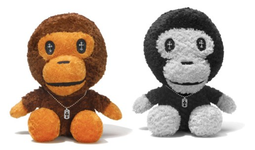 Chrome Hearts x A Bathing Ape Baby Milo Plush Toy