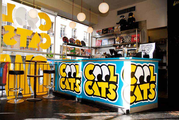 Cool Cats Yellow Pop-Up Shop