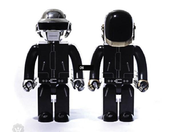 Daft Punk x SILLY THING 1000% Kubrick Set