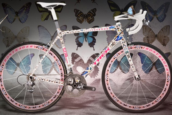The Bikes of Stages - Trek Madone: Damien Hirst
