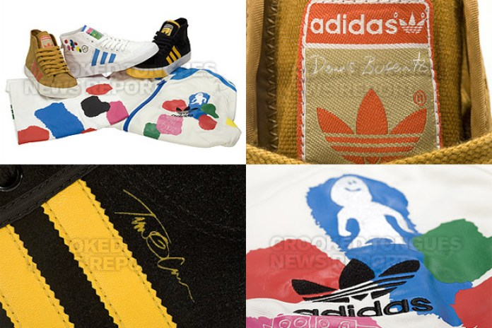 "Dennis Busenitz / Tim O'Connor / Mark Gonzales x adidas Originals ""Skateboarding"" Nizza High"