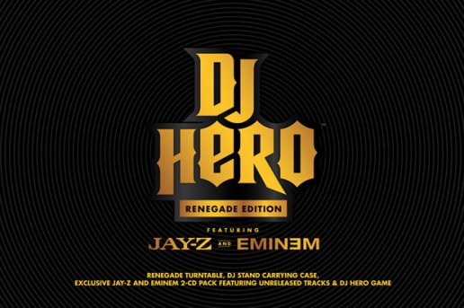 "DJ Hero: Jay-Z x Eminem ""Renegade"" Edition"