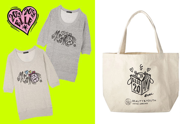 ELLE Magazine x Andre x Beauty & Youth 20th Anniversary Totebag