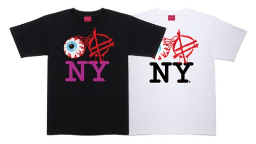"Fucked Up x Mishka ""Eye Fucked Up New York"" T-shirt"