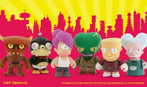 Futurama x Kidrobot Mini Series