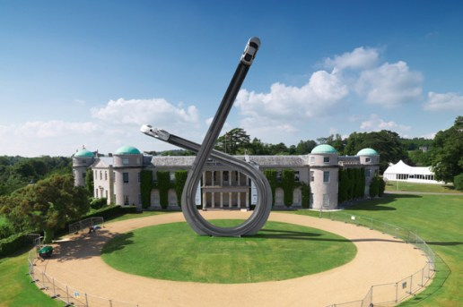 Gerry Judah for Audi Goodwood Festival of Speed Sculpture