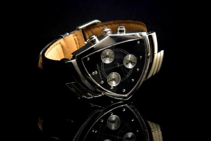"Hamilton x nano universe ""Ventura Chronograph"" Watch"