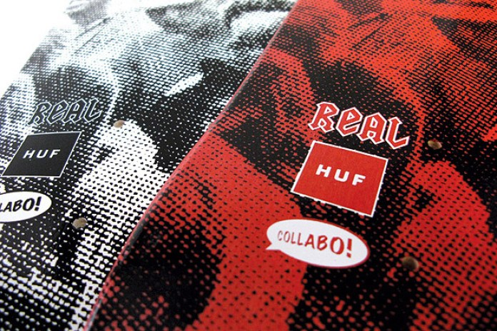 HUF x Real Skateboards Collabo Skate Decks