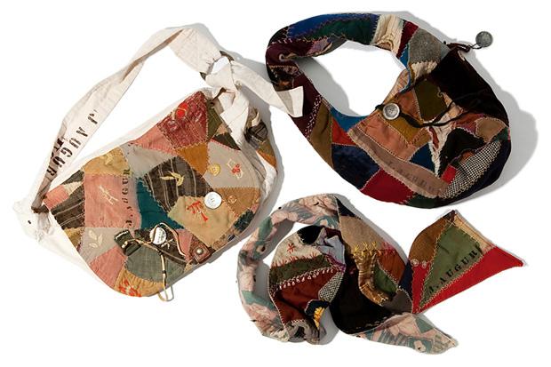 J.Augur Design Patchwork Bags & Scarf