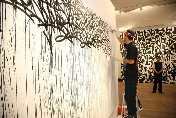 JonOne Exhibition @ 18Gallery Shanghai