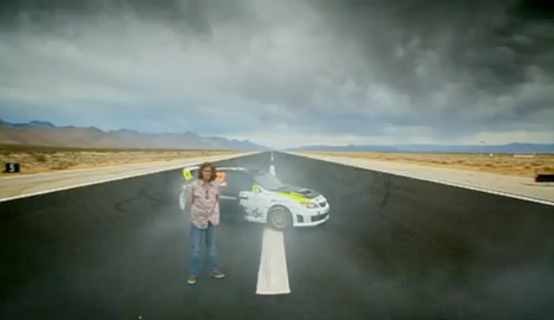 Ken Block Drift Session on Top Gear with James May